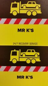 NORTH LONDON 24/7 VEHICLE BREAKDOWN RECOVERY SERVICE