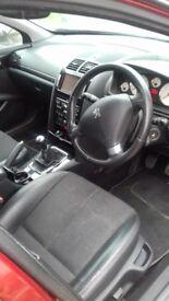 Peugeot 407 sw estate 2010 70000 miles high spec incl sat nav