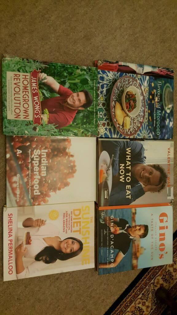 Cookery books. Healthy Italian Moroccan