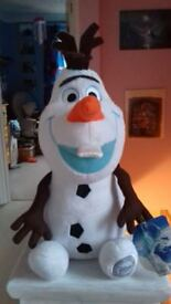 CUDDLY OLAF FROM FROZEN 10 INCHES TALL TOY