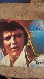 Elvis presley love songs record