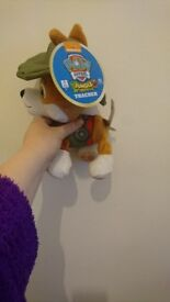 Tracker Paw Patrol Plush Toy