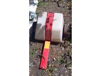 Atv garden tractor sprayer
