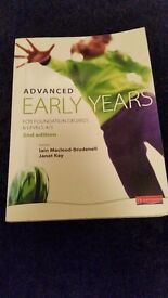 Advanced Early Years 2nd edition book