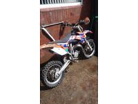 Ktm 85 cc motocross bike scrambler