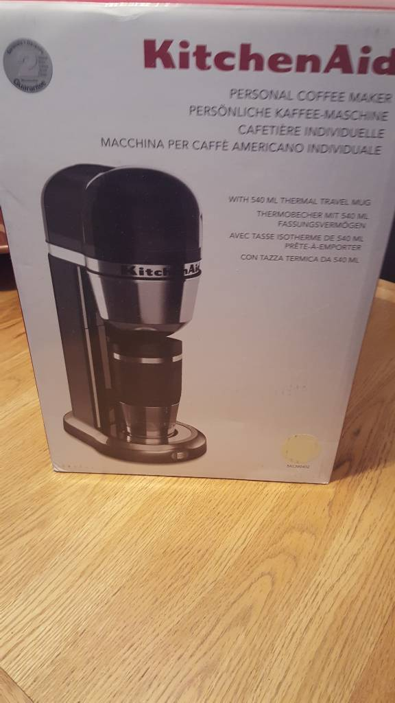 Personal Coffee Maker With 540 ml thermal travel mug