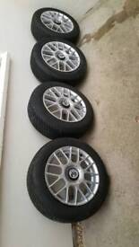 Fox Racing Alloys with Tyres