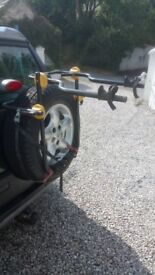 halfords Spare Wheel Mounted Bike Carrier