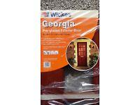 """Pre glazed Exterior Door. 78x30x 1-3/4"""". (1981×762×44 mm. Never used."""