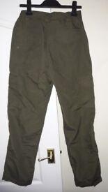 Trakker Ripstop Combat Carp trousers size medium