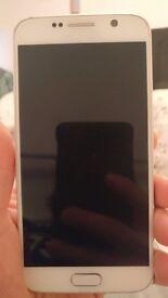 Samsung galaxy s6 white (ee)