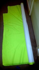 Roll of Fluorescent Yellow Hi-Vis Material - 1.5m x 8m