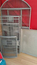 PARROT CAGE LARGE DOME TOP SANTOS 2 CAGE for MED/LARGE PARROTS