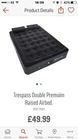 Double premium air bed brand new