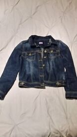 Denim Jacket in perfect condition. Aged 9-10yrs. Only worn a handful of times.