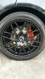 """22"""" Alloy Wheels and Tyres"""