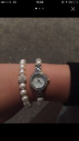 Sekonda women's watch and matching bracelet