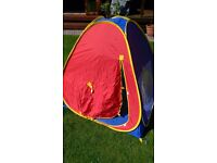 Child's pop up play tent. Decent condition with a couple of small marks but no rips.