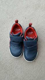 CLARKS First shoes size 5E