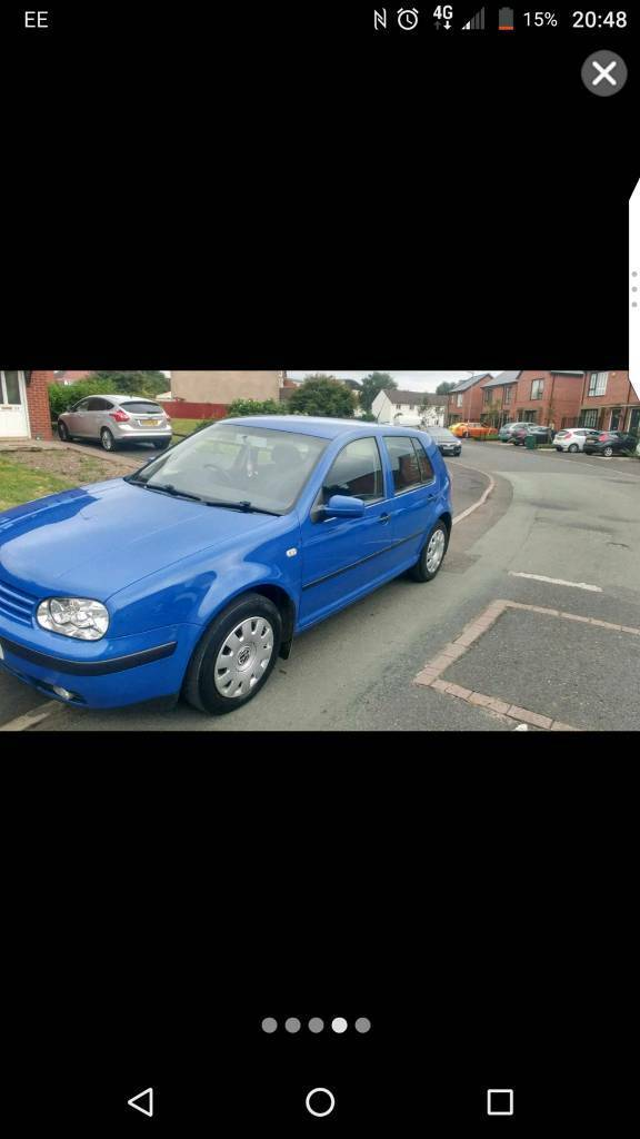 VW Golf mk4 2002 spair repair