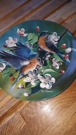 KEVIN DANIEL limited edition plates for sale.