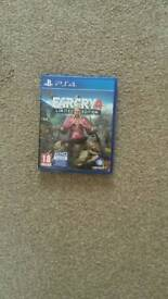 p.s.4 farcry 4 limited edition game