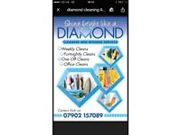 Shine bright like a diamond cleaning and ironing services