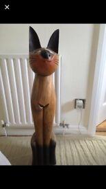 Solid wood cat