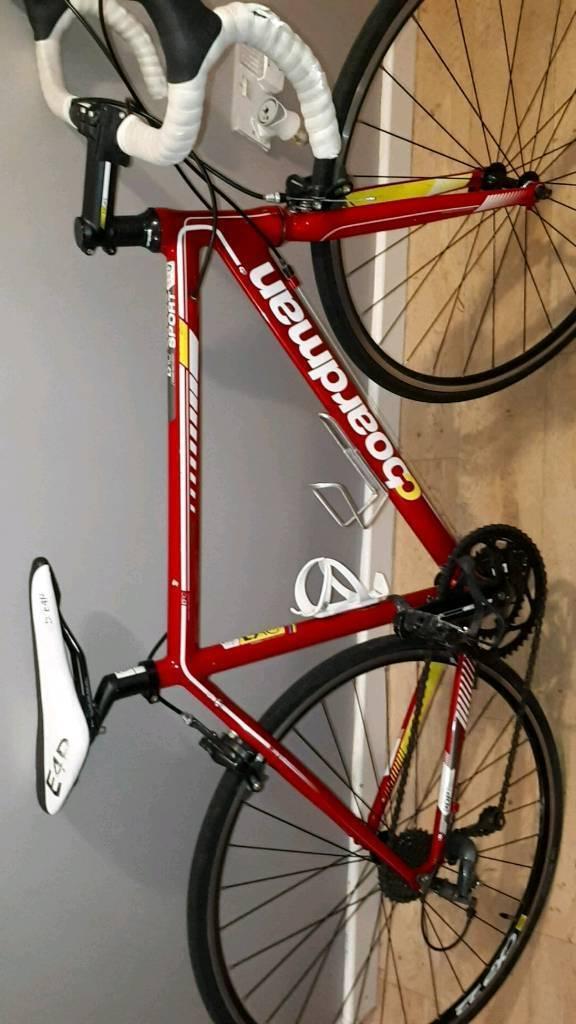 Boardman cycling racing bike