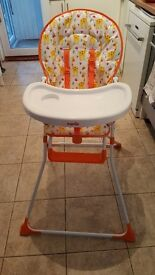 Highchair 6 months plus