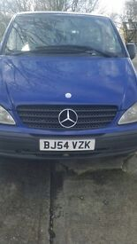Mercedes Vito 109 CDI - 9 seater with wheelchair access