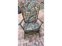 Ercol 478 fire side chair