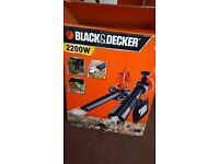 Blower and vacuum black and decker