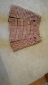 Really Wild Pink tweed skirt size 8