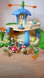 Tree fu Tom playset and characters