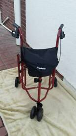 Folding Rollator mobility aid