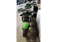 Kawasaki zx6r frame with v5