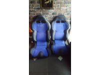 2x Cobra Bucket Seats (Both Flip Forward & Recline) £180.00 O.V.N.O