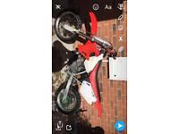 Honda cr80 mint solid bike lifts Thro the box