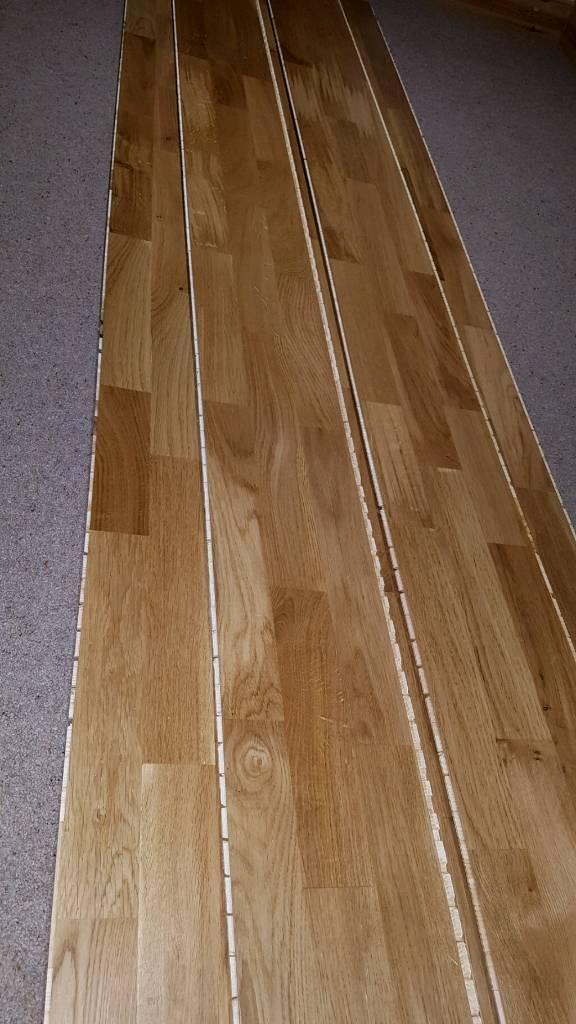 Engineered oak floor