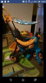 toddler trike hardly used.