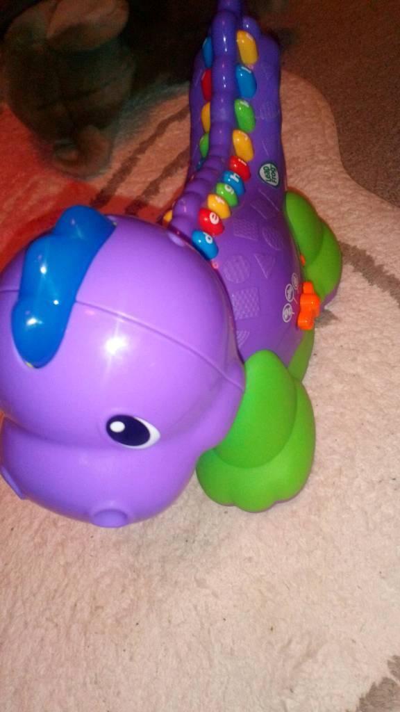 Leapfrog dinosaur toy