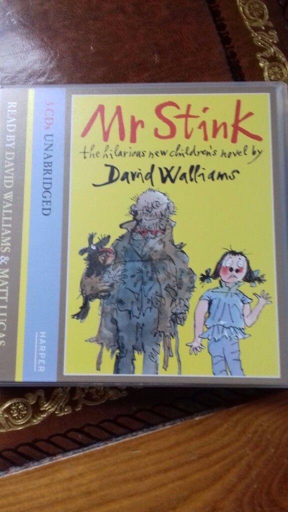 3 CD AUDIO BOOK MR STINK DAVID WALLIAMS