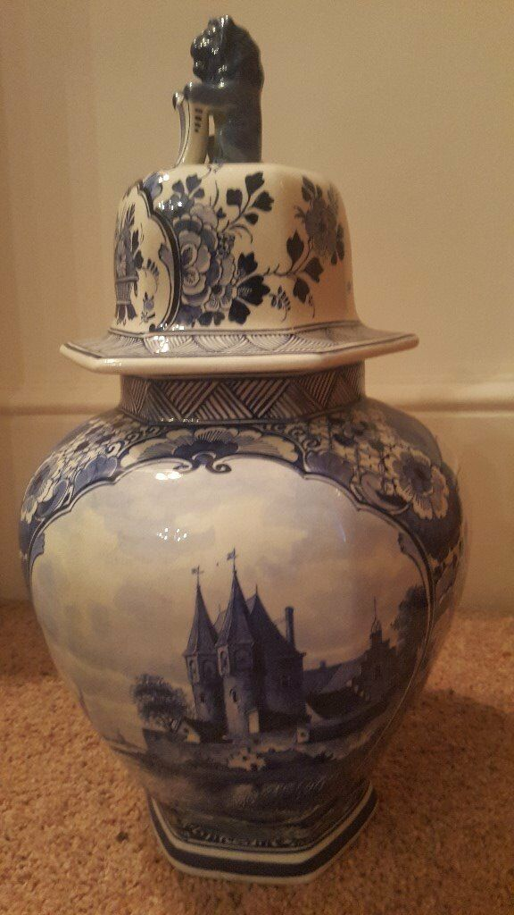 Large Beautiful Delft Vase In Westminster London Gumtree