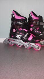 Girls 1 -4 skates