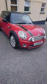 Mini Cooper D 09 plate