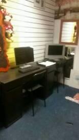 Desks ideal for students/work