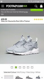 Nike aire Huarache trainers size 9