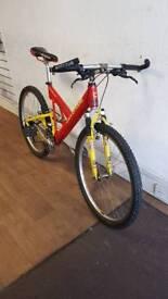 Cannondale Super V 1000 full suspension Mountain Bike
