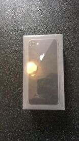 iPhone 8 new sealed 64gb space grey unlocked